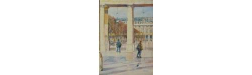 patinage dans la cour d'honneur du Palais Royal